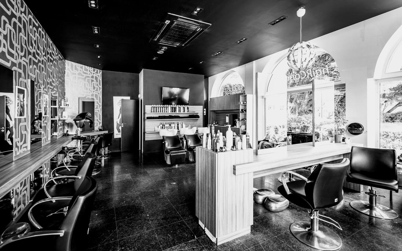 Vue intérieure Salon de coiffure nicolas-t